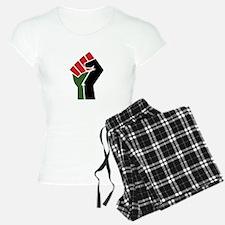 Black Red Green Fist Pajamas