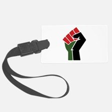 Black Red Green Fist Luggage Tag