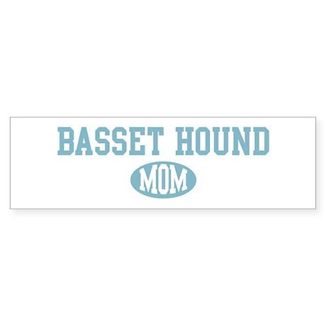 Basset Hound mom Bumper Sticker