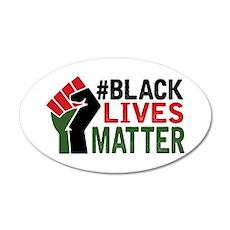 #Black Lives Matter Wall Decal