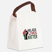 #Black Lives Matter Canvas Lunch Bag