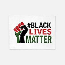 #Black Lives Matter 5'x7'Area Rug