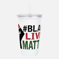 #Black Lives Matter Acrylic Double-wall Tumbler