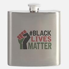 #Black Lives Matter Flask