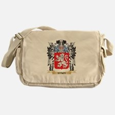 Stacy Coat of Arms - Family Crest Messenger Bag