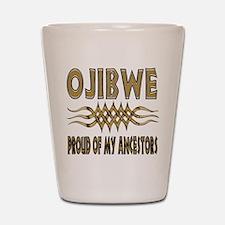 Ojibwe Ancestors Shot Glass