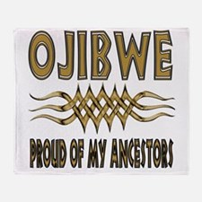 Ojibwe Ancestors Throw Blanket