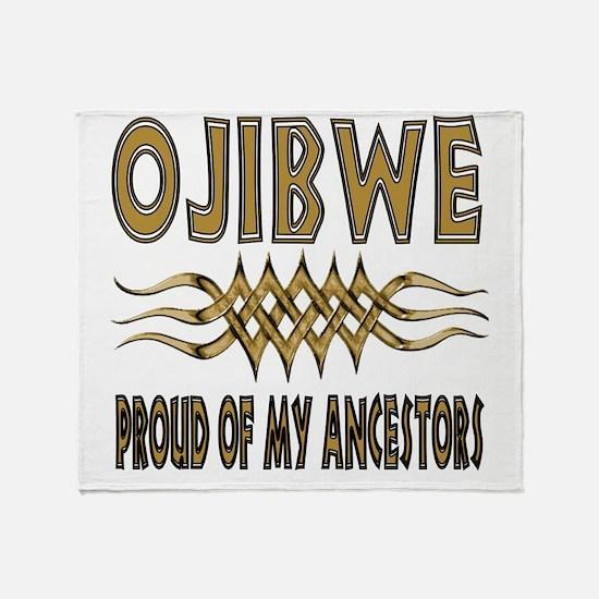 Ojibwe Ancestors Throw Blanket