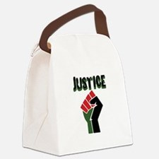 Justice Canvas Lunch Bag