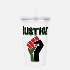 Justice Acrylic Double-wall Tumbler