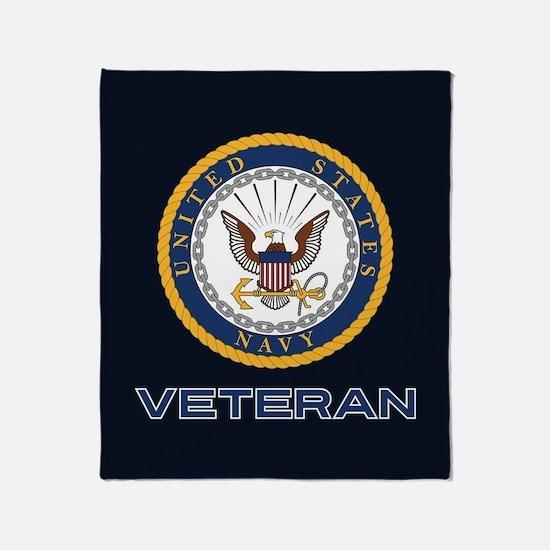 U.S. Navy Veteran Throw Blanket