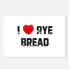 I * Rye Bread Postcards (Package of 8)