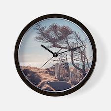 Graveyard by the sea Wall Clock