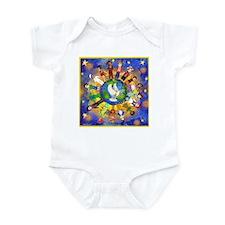 World Children Peace Infant Bodysuit
