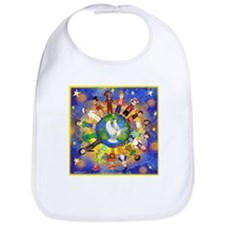 World Children Peace Bib
