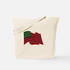 African American Flag Tote Bag