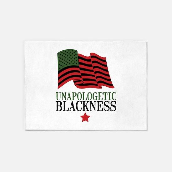 Unapologetic Blackness 5'x7'Area Rug