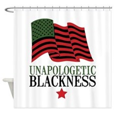 Unapologetic Blackness Shower Curtain