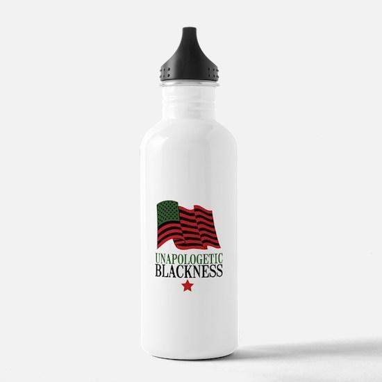 Unapologetic Blackness Water Bottle