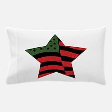 African American Star Pillow Case