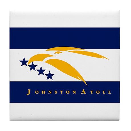 Johnston Atoll Flag Tile Coaster