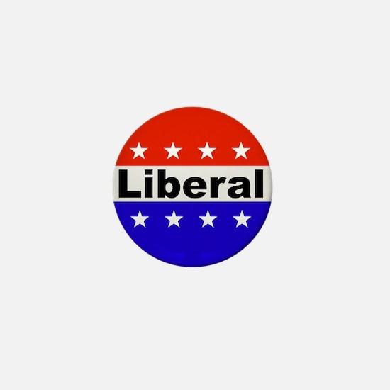 Liberal Mini Button
