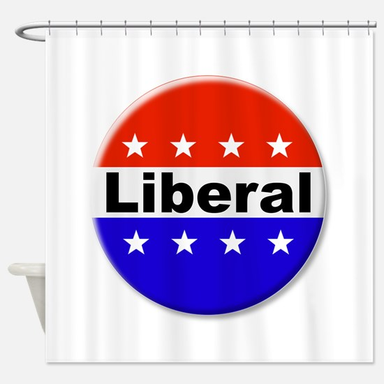 Liberal Shower Curtain