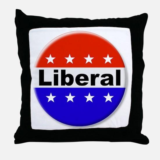 Liberal Throw Pillow