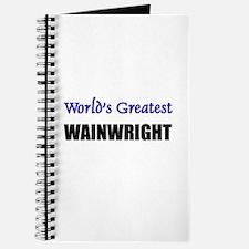 Worlds Greatest WAINWRIGHT Journal