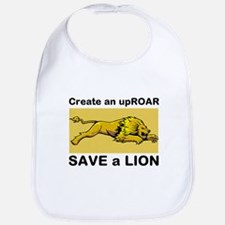 Lion Uproar Bib