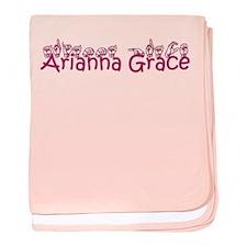 Arianna Grace baby blanket