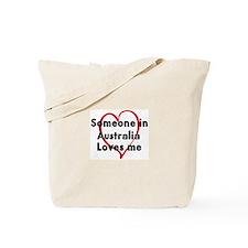 Loves me: Australia Tote Bag