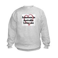 Loves me: Australia Sweatshirt