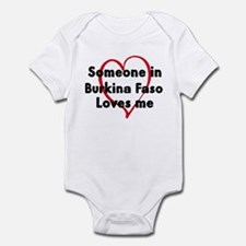 Loves me: Burkina Faso Infant Bodysuit
