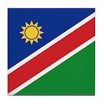 Namibia Flag Tile Coaster