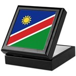 Namibia Flag Keepsake Box
