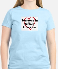 Loves me: Buffalo T-Shirt