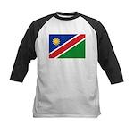 Namibia Flag Kids Baseball Jersey