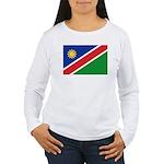 Namibia Flag Women's Long Sleeve T-Shirt