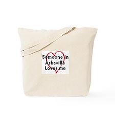 Loves me: Asheville Tote Bag