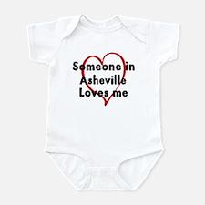 Loves me: Asheville Infant Bodysuit