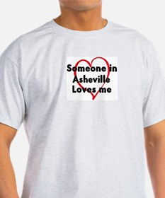 Loves me: Asheville T-Shirt
