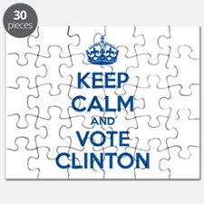 Keep calm and vote Clinton Puzzle