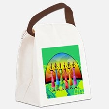 African American Women Canvas Lunch Bag