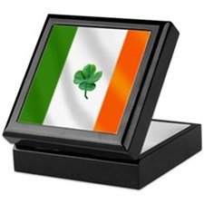 Irish Flag Keepsake Box