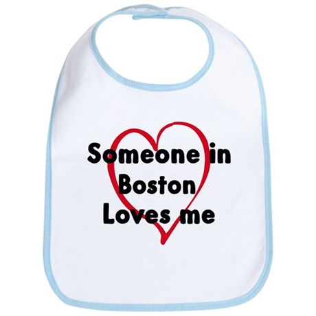 Loves me: Boston Bib