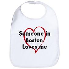 Loves me: Boston Bib
