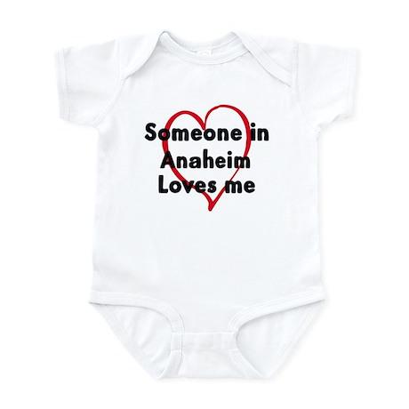 Loves me: Anaheim Infant Bodysuit