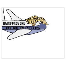 Trump Presidential Plane Poster
