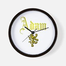 Adam. Wall Clock